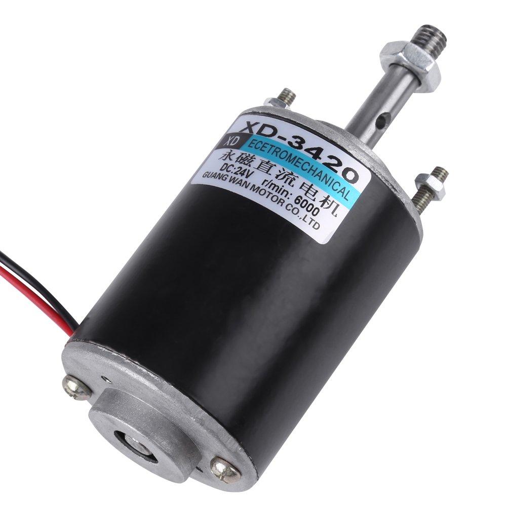 DC 12//24V 30W High Speed Permanent Magnet Motors  DIY Generator 3000 //6000RPM