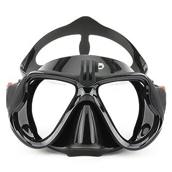 VILISUN Gafas/Máscara de Buceo y Snorkeling para Cámara GoPro,Anti-niebla y