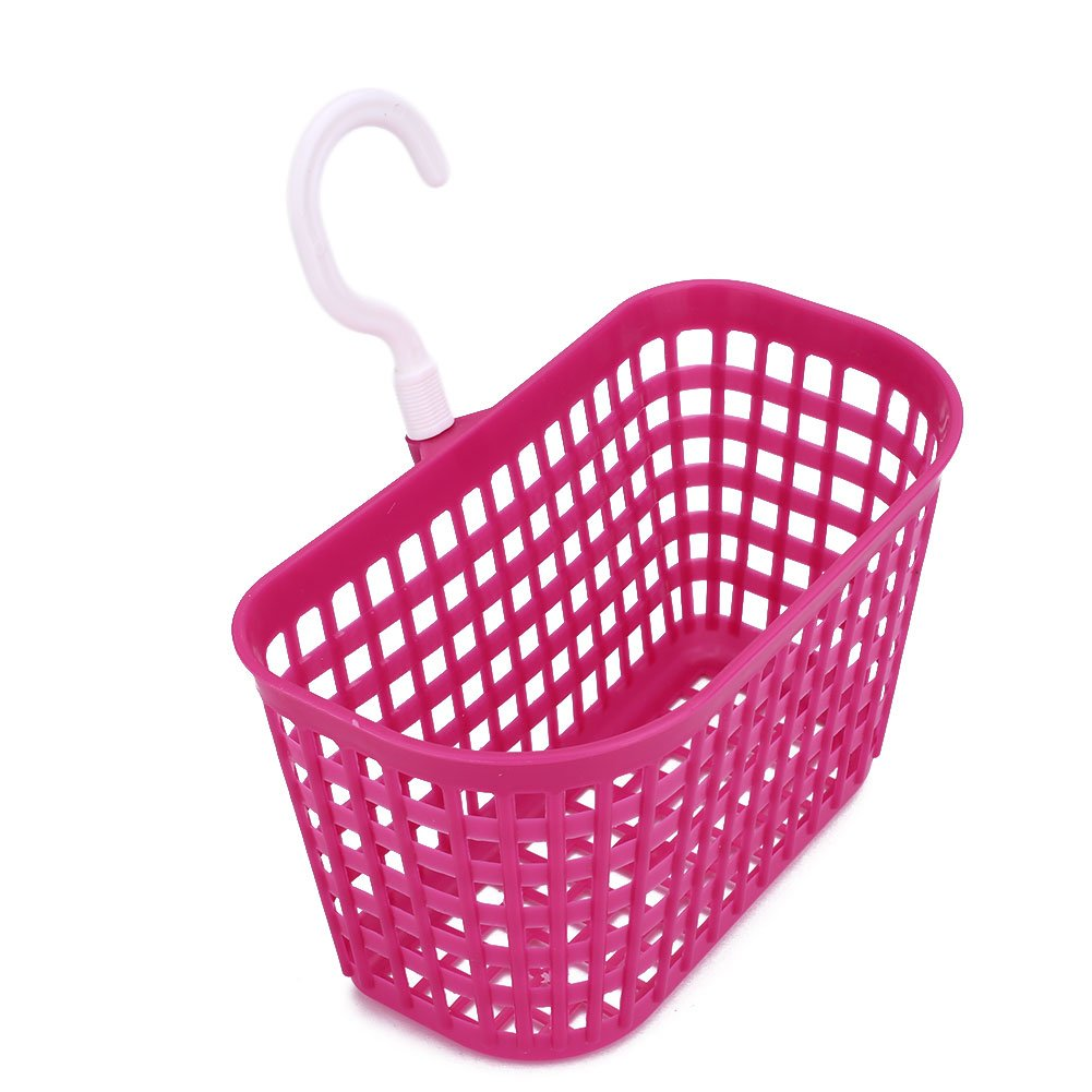 attachmenttou Nouvelle salle de bain en plastique suspendu Panier de douche pour les cosmétiques Shampooing (Bleu) Kicode