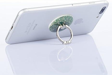 Uposao Redondas Brillantes Diamond Ring Dedos de Soporte Soporte ...