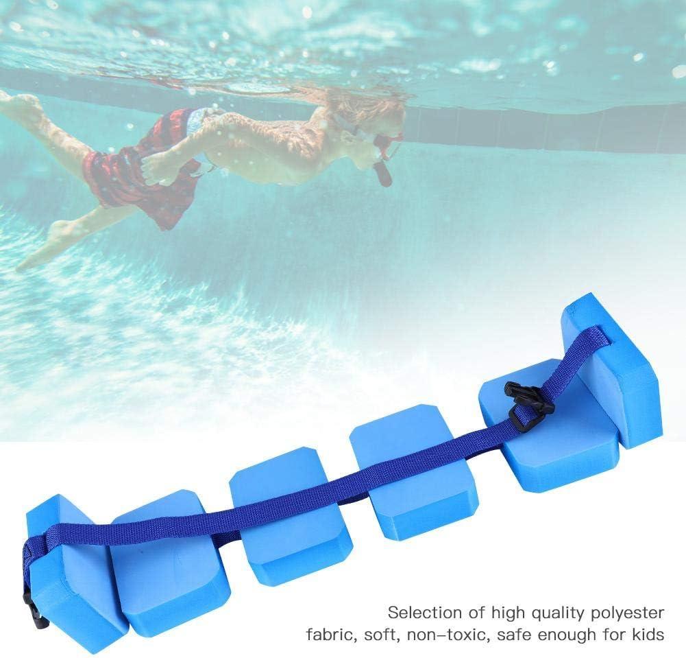 OKBY Nuoto Galleggiante ad Aria Leggero salvagente per la Vita Nuoto Apprendimento Aiuto per lallenamento Galleggiante in Vita Cintura Regolabile in Eva