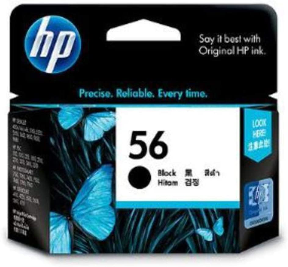 Remanufactured Ink Cartridge Replacement for HP 56 (1 Black)