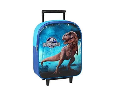Bolsa Mochila Infantil con Ruedas a Jurassic World – 28 x 22 cm – Ecole y