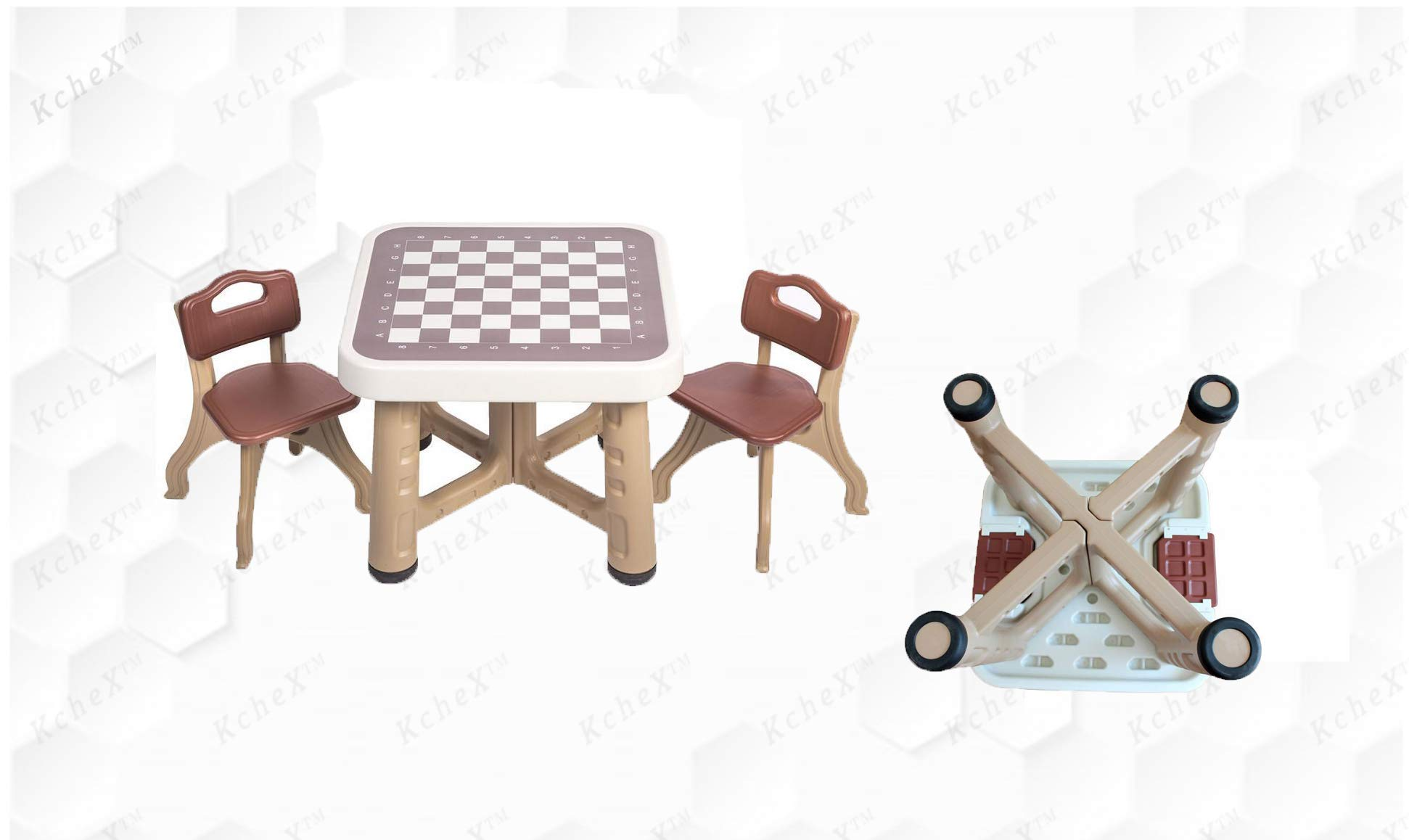 KCHEX__Children Table with Two Chairs