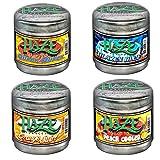 4 Pack Haze Hookah Shisha Premium Flavors 100g - Non Tobacco