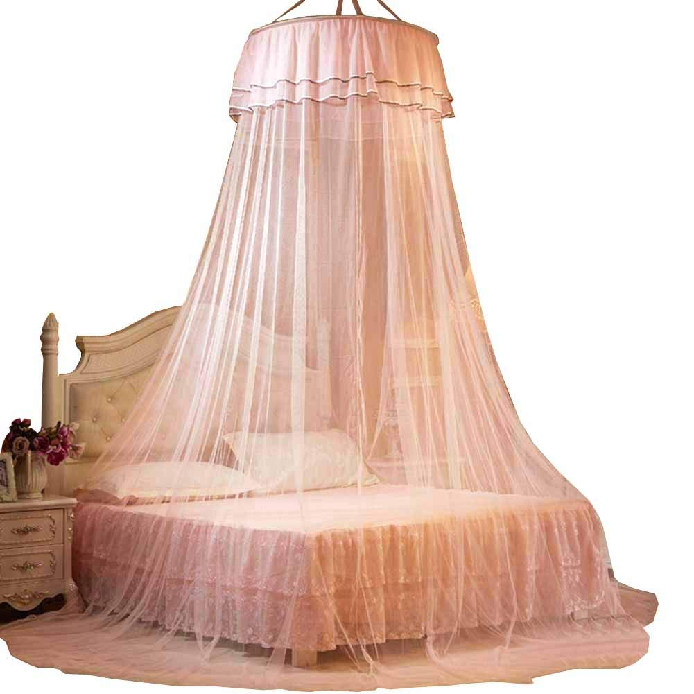 POPPAP Bed Canopy for Girl Baby Kids Dream Tent Bedroom Decorations Jade Color(Little Princess)
