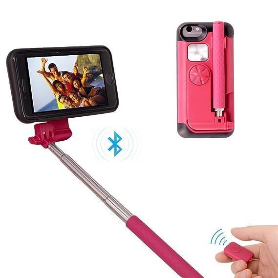 uk availability 190c6 7c4de Amazon.com: Newest iPhone 7 Plus 8 Plus Long Selfie Stick, Portable ...