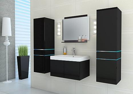 Arredo Bagno Compatto : Homedirectltd laura set mobili bagno moderno lavello pannello