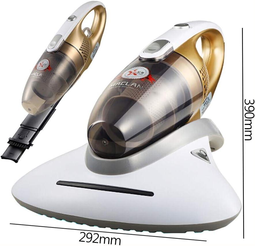 Aspirador UV antiácaros doméstico, aspiradora de Mano con Filtro HEPA Triple para colchones de sofá y alérgenos para Eliminar: Amazon.es: Hogar