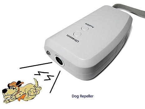 Namsan – Repelente para perros, perro entrenador con linterna LED, profesional corteza tapón,