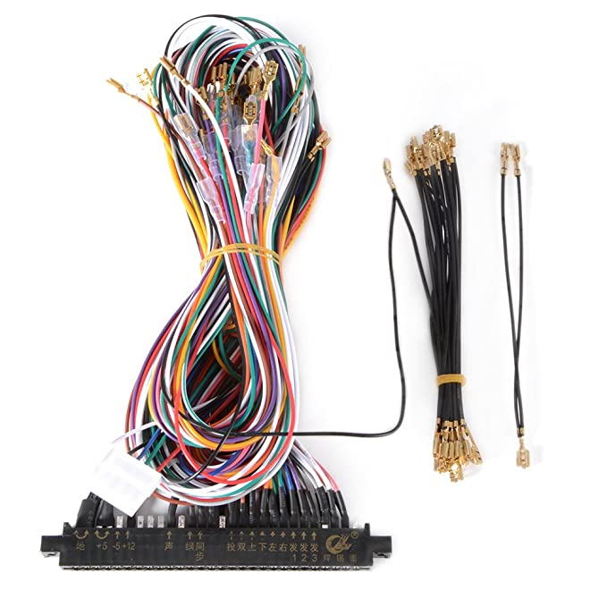 Standard Wiring Harness Loom DIY 28pin Cable for Jamma ... on