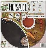 Grow Your Own Hot Sauce Garden Seedsheet- AS SEEN ON SHARK TANK- Fast-Growing Organic NonGMO Recipe Garden Kit