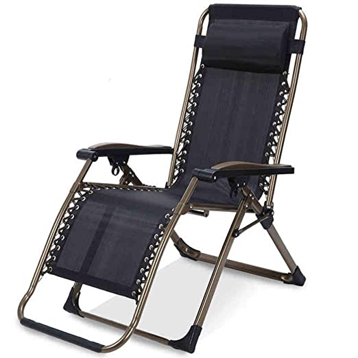XHX Tumbonas plegables, sillas reclinables portátiles ...