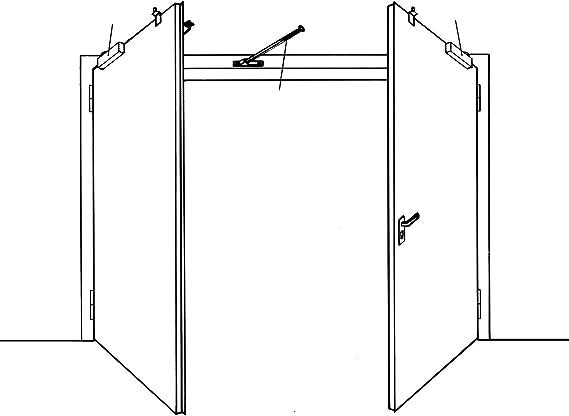 Dorma 47000000 - Selector cierre 390 puerta 2 hojas galvanizado: Amazon.es: Bricolaje y herramientas