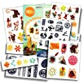 Disney Moana Tattoos - 75 Assorted Temporary Tattoos by Disney Studios