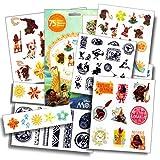 Toys : Disney Moana Tattoos - 75 Assorted Temporary Tattoos