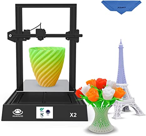 Aibecy HUAXU3D X2 - Impresora 3D (300 x 300 x 400 mm, con pantalla ...