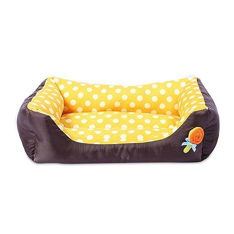 LA VIE - Colchón para mascota, cama para perro, suave, acogedor, sofá, cama para perro, alivio de ...