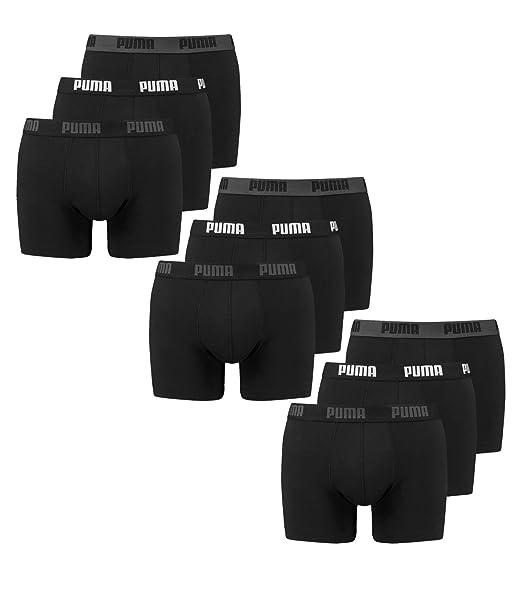 Details zu 4 er Pack Puma Boxer Shorts schwarz Größe S Herren Unterhose