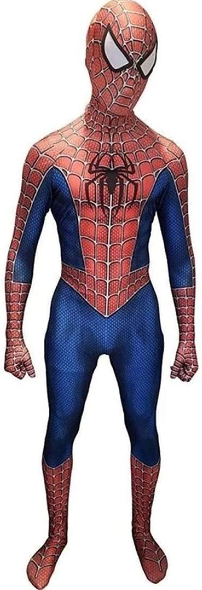 COSPLAY Disfraz de Spider-Man Traje ajustado de cuerpo completo ...