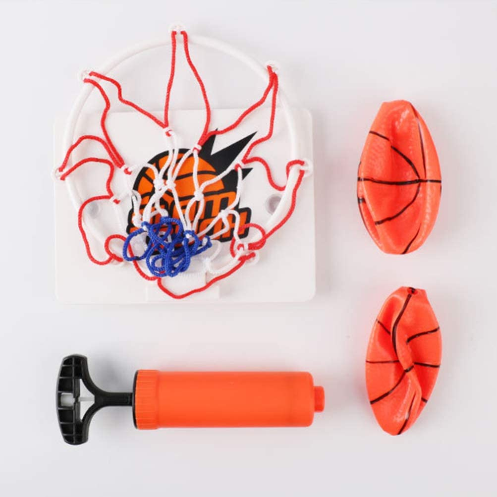 Tomaibaby 1 Set of Basketball Hoop Game for Kids and Adults Mini Basketball Portable Wall-Mounted Interesting Funny Indoor Basketball Toy Sports Game Toy for Home Office Bedroom