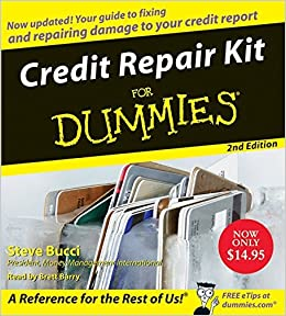 Book Credit Repair Kit for Dummies CD 2nd Edition (For Dummies (Lifestyles Audio)) by Steve Bucci (2008-09-23)