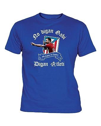 Camiseta Hombre del ATLÉTICO DE Madrid NO DIGAN Gabi, DIGAN Atleti: Amazon.es: Ropa y accesorios