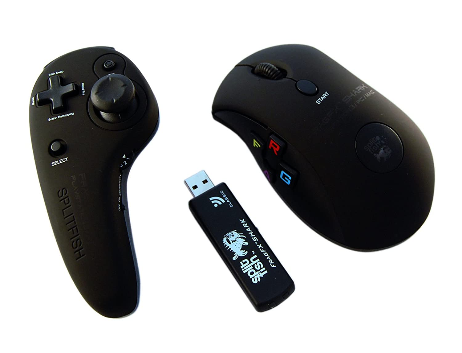 FragFX Shark PS3 CLASSIC (PS3/PC/MAC) - Wireless Controller