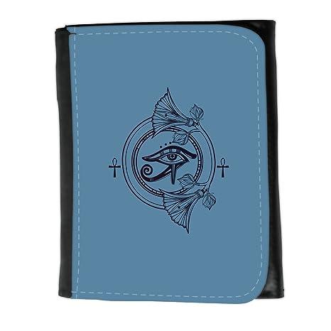 Cartera para hombre // Q08360600 Rahorus 1 Azul fuerza aérea // Small Size Wallet