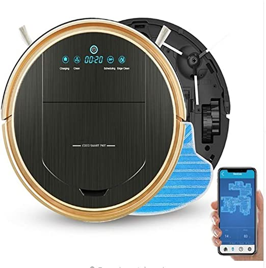 SXGRDBD Robot Vacuum Cleaner MAX Power Suction Power with App ...