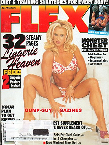 (FLEX October Magazine 32 STEAMY PAGES LINGERIE HEAVEN Monster Chest Total Routines CAN FLEX WHEELER BEAN RONNIE COLEMAN AT THE 2002 MR. OLYMPIA? Chris Cormier Traces His Roots)