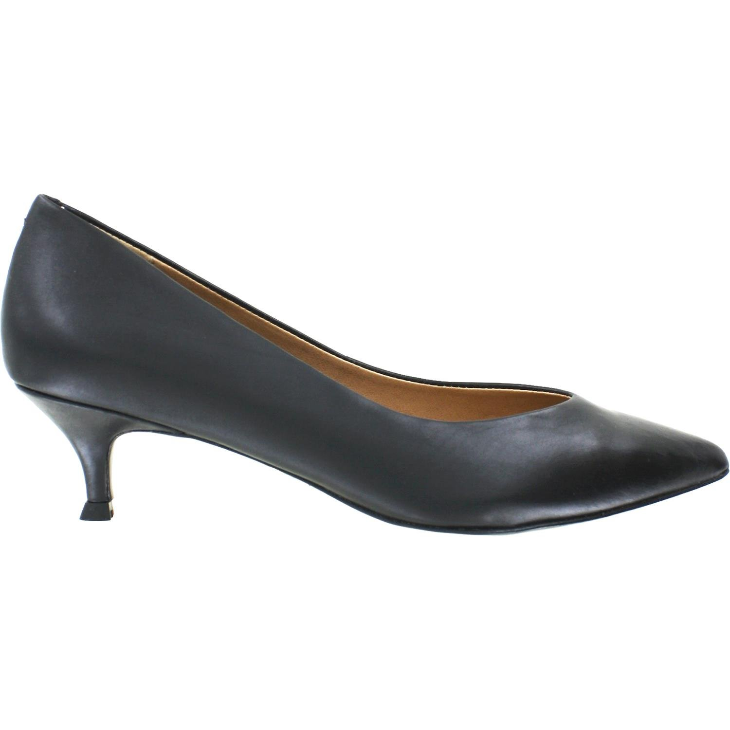 Vionic Womens Josie Kitten Heel Black Pump - 8.5 M by Vionic