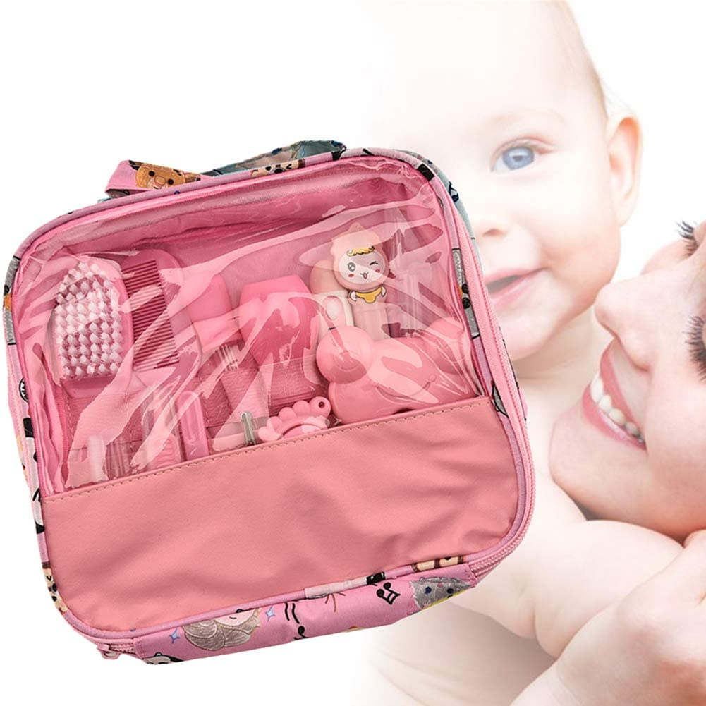 Ni/ños Ni/ño Reci/én Nacidos De 13pcs Beb/é Salud Set De U/ñas Cuidado Infantil Premium Set Accesorios Para El Cuidado Del Beb/é Para Los Beb/és Rosa