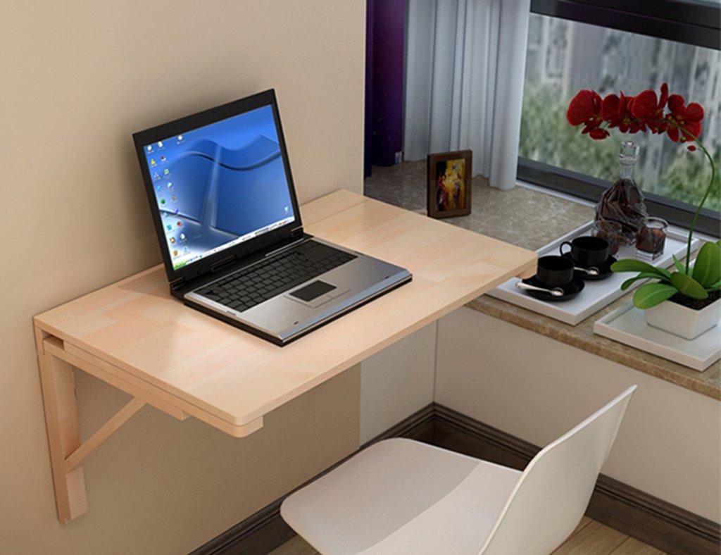 ウッディ折り畳み式コンピュータテーブル壁掛けラップトップデスクラーニングテーブルダイニングテーブル壁掛けテーブルサイズオプション ( サイズ さいず : 80*50cm ) B07B73WY2L 80*50cm  80*50cm