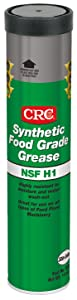 CRC SL35610 Synthetic Food Grade Grease, 14 Ounce, Clear, Colorless Grease