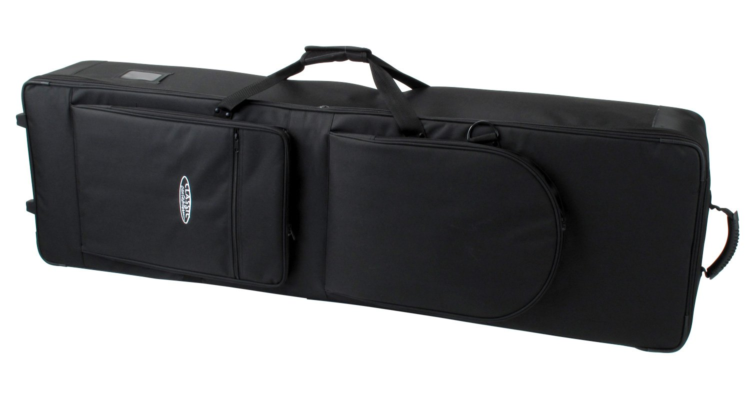 Classic Cantabile Keyboard Case/Trolley 135 With Wheels