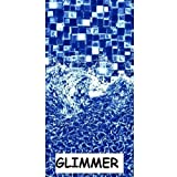 24 ft Round Beaded x 52'', Glimmer, Above Ground Pool Liner, Vinyl Pool Liner