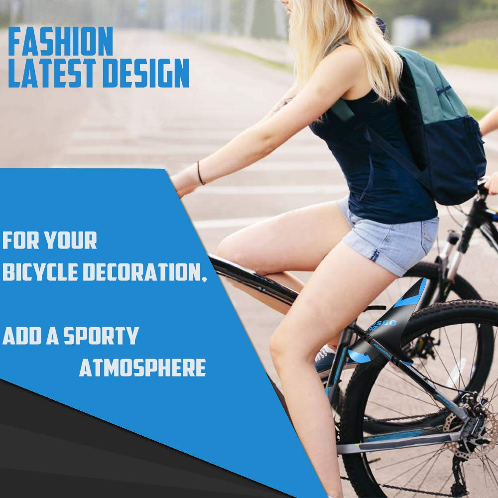 27.5 Mountian Bike Fender Plus Size and Fat Bike Wheel Sizes 29 MTB Mudguard Cycling Fender Fits 26 Front and Rear Compatible