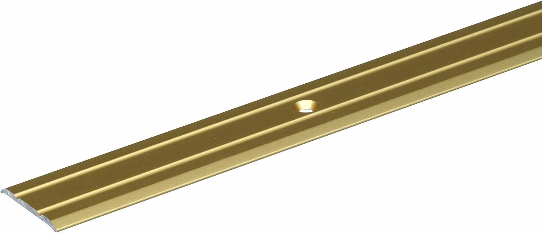 goldfarbig eloxiert GAH-Alberts 491383 /Übergangsprofil gebohrt Aluminium 900 x 38 mm