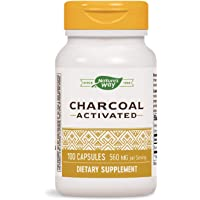Nature's Way Activated Charcoal (100 Capsules)