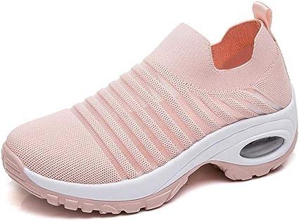 Chaussures De Marche Femme Ete Air Coussin Grand Taille