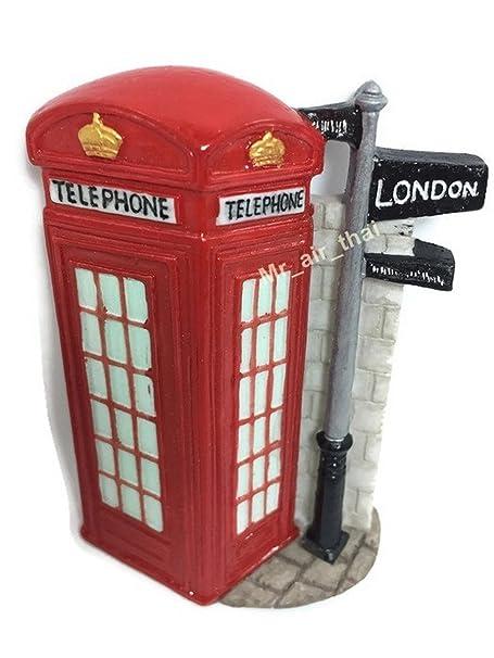 Cabina telefónica, Londres recuerdo colección 3d imán de nevera ...