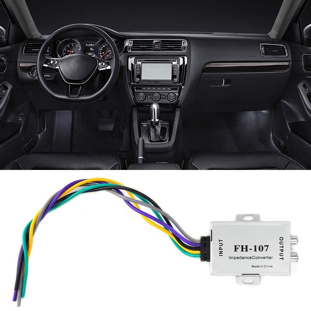 Convertitore audio amplificatore audio corno Car Stereo Speaker Amplificatore da alta a bassa frequenza