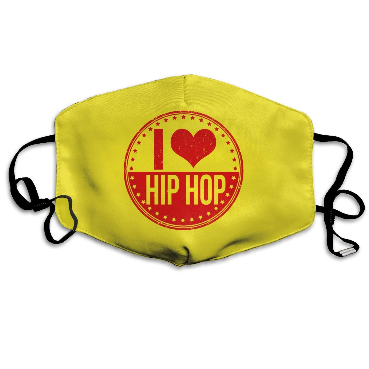 Mouth-Muffle Face Mask Unisex Love Hip Hop Adjustable Washable Anti-dust Woman Mens