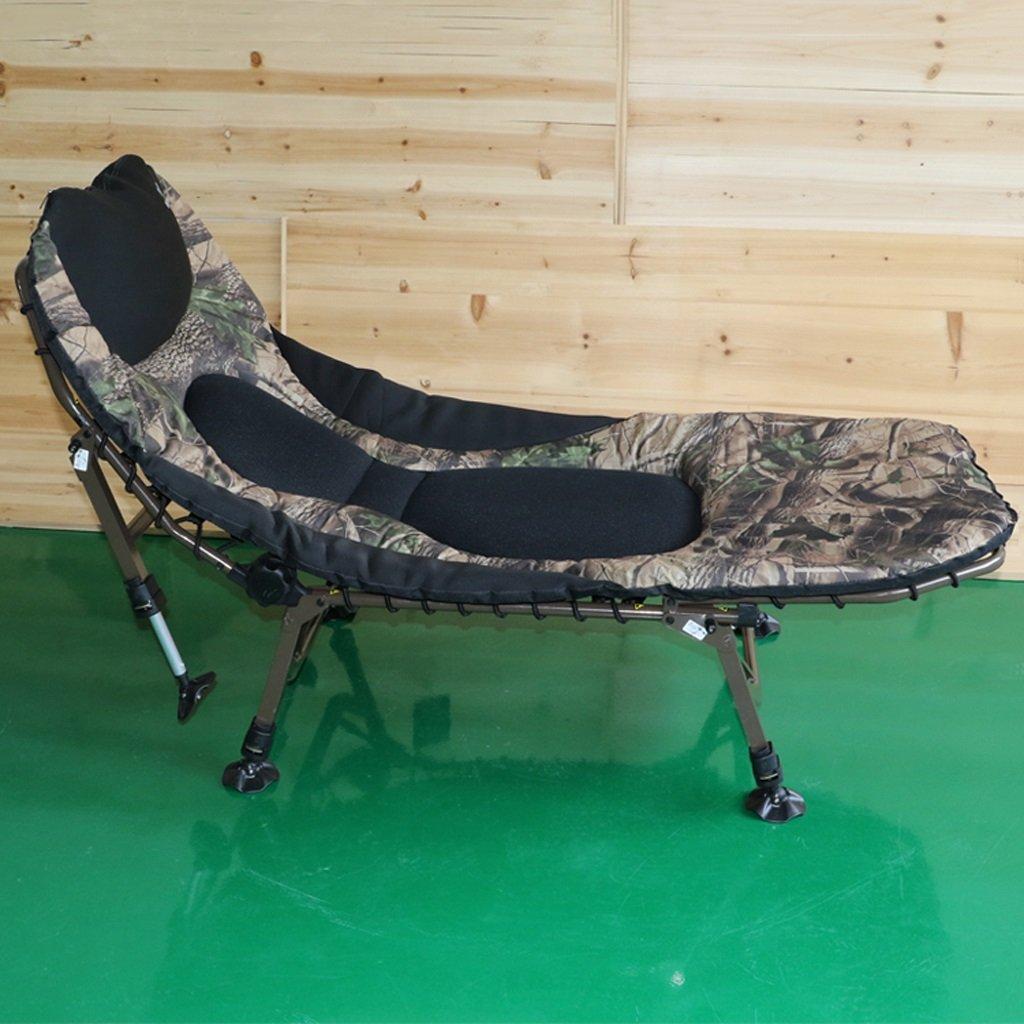 ZCXBHD 6脚リクライニング ベビーシッター 折りたたみ 怠惰な 椅子 余分な 心地よい 詰め物 鯉 夜 ために 釣り キャンプ ベッド ゲスト   ベッド (サイズ さいず : 172*78*36cm) B07RSMGN15  172*78*36cm