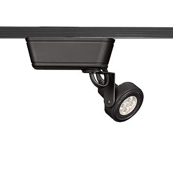 wac lighting lht 160led bk low voltage 120v track luminaire l