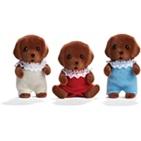 Calico Critters Chocolate Lab Triplets Set