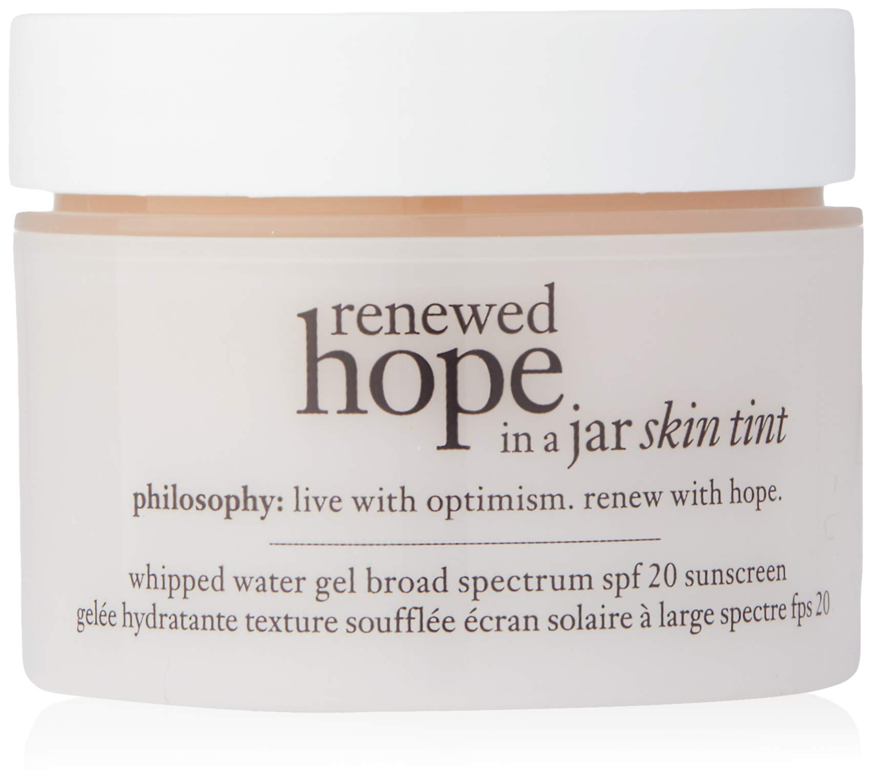 Philosophy Renewed Hope in a Jar Skin Tint Spf 20, 5.5 Beige for Women, 1 Ounce by Philosophy