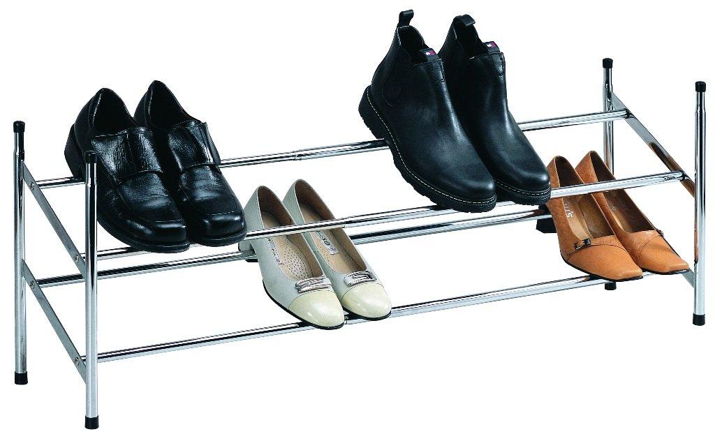 Schuhregal schuh aufbewahrungs system verchromt metall bis. 62 110