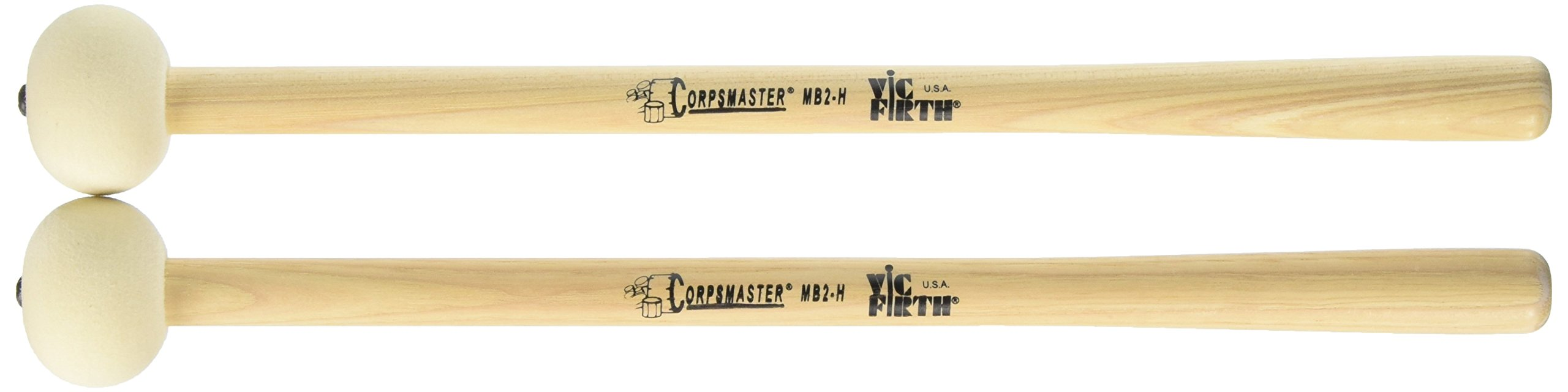 Vic Firth Corpsmaster Bass Mallet -- Super Hard Felt Head
